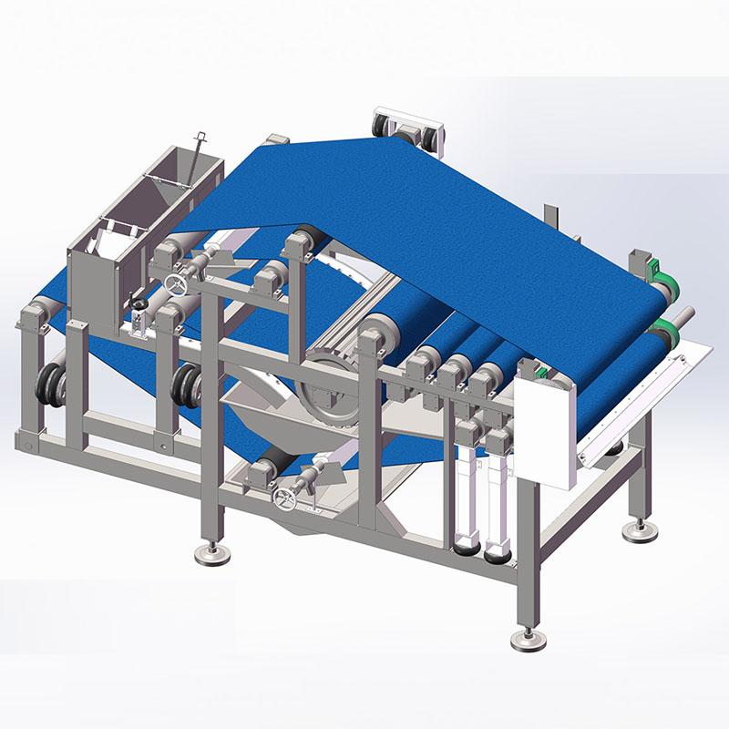 广西壮族自治区高效重力脱水式带式压滤机