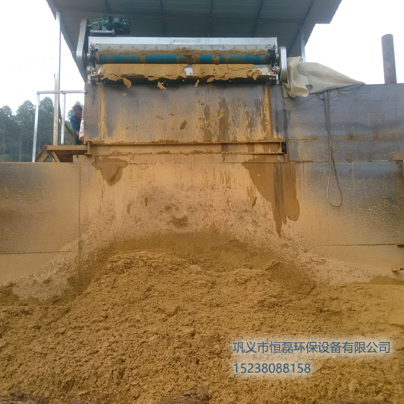 广西壮族自治区河道淤泥带式压滤机