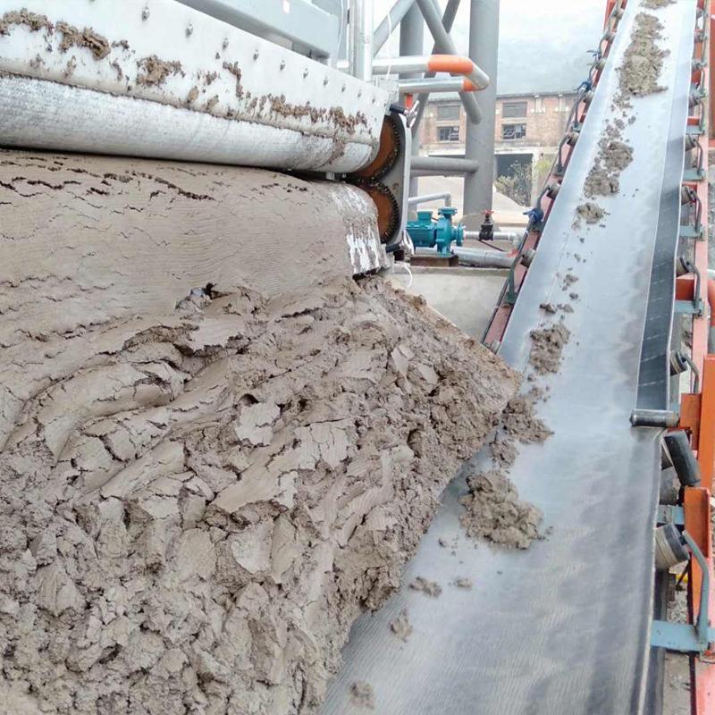广西壮族自治区制沙场洗砂污泥脱水带式压滤机